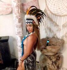 Federhaube Indianer Kopfschmuck War bonnet Coiffe Indienne Karneval LBH