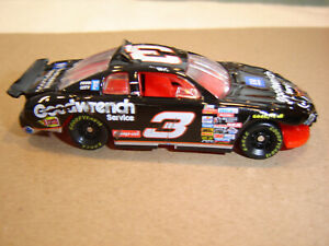 #3 Dale Earnhardt 1997 Goodwrench DAYTONA 500 CRASH CAR RACED 1/64 Action RCCA