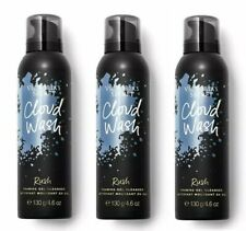 Lot Of 3 Victorias Secret Rush Cloud Wash Foaming Gel Cleanser 4.6 oz New!
