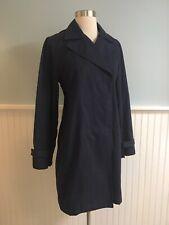 Size Small S Ralph Lauren Marine Supply Co Women's Navy Blue Jacket Peacoat
