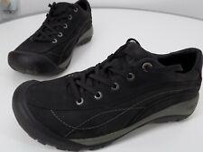 Keen Presidio Black Nubuck Leather Walking Hiking Comfort Shoe Women's 10.5