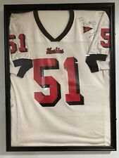 Larry English Game Worn Northern Illinois Jersey Autographed