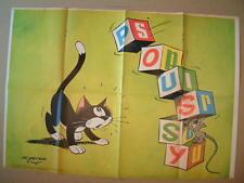Poster Spirou 1777  Poussy PEYO DE GIETER