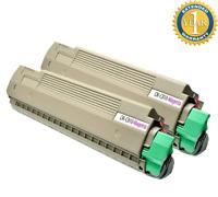 4 Pack Toner Cartridge Set for Okidata Oki C830 C830N C830DN C830DTN C810 C810DN