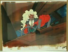 Savage Dragon Original Production Animation Cel & Copied Background (14-58)