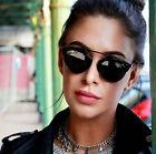 So Real Black Sunglasses Men Women Designer Retro Vintage Fashion