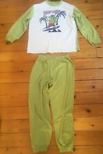 CAVALIERE Dinosauro Pigiama Per Ragazzi Maniche Lunghe pantaloni Sleepwear Set di sicurezza