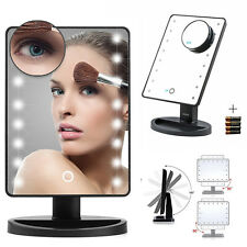 Natural Daylight Lighted Makeup Mirror Vanity Mirror 10X Magnification Cosmetic