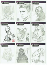 Star Wars Heritage Topps 2004 Artist Sketch Card Selection 1/1 - Various Artists