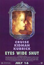 Eyes Wide Shut - 1999 - original 27x40 movie poster Tom Cruise, Nicole Kidman