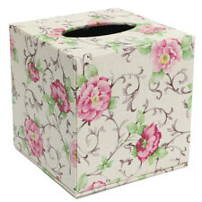 Durable PU Leather Tissue Box Case Cover  Paper Napkin Holder Home Office Decor