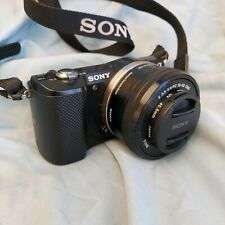 Sony Alpha a5000 Mirrorless Digital Camera with 16-50mm Lens Black S.C. 884