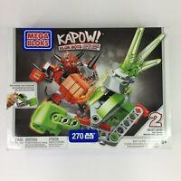 Mega Bloks KAPOW! BLOK BOTS Bash vs Nitro Showdown 270 Pieces Ages 6+ CXM75 NEW