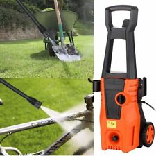 2000W 1550PSI High Power Electric Pressure Washer Hose Nozzle Cleaner Portable