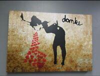 "BANKSY  ""Love Sick""  Street Artwork / Print on Glossy Paper or Canvas"