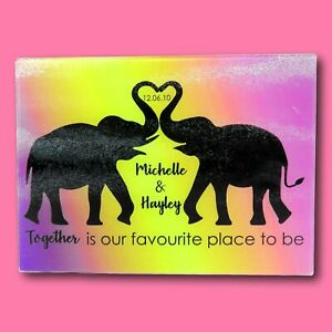 Elephant Chopping Board | Personalised Chopping Board | Wedding Gift