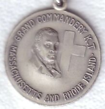 C2435    KNIGHTS  TEMPLER   MEDAL,  GRAND COMMANDERY  MASS. & R.I.