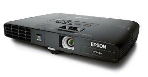 New Epson PowerLite 1761W WXGA 3LCD 2600 Lumens Wireless Projector H478A