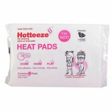 Hotteeze Stick On Heat Pads - 10 Piece