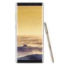"Samsung Galaxy Note 8 N950FD 6.3"" UHD AMOLED Touch (64GB/6GB RAM, Octa Core, 12+12MP/8MP, 3300mAh, Dual SIM, LTE, Android) Smartphone (Unlocked) - Gold (SM-N950FZDDBTU)"