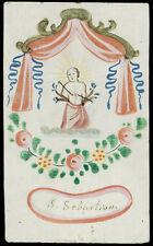 santino miniatura 1700 S.SEBASTIANO M.