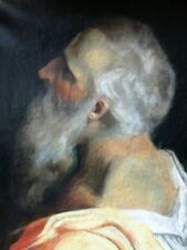 Apostle Paul Oil on Canvas Late 19th Century