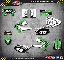 Kawasaki KLX 250 2008 - 2016 Full custom sticker kit REBOUND style decals