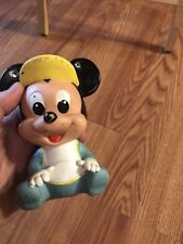 Vintage Mickey Mouse Squeeze Toy 1984