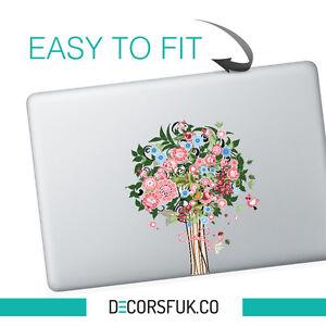Tree macbook sticker | Laptop stickers | Macbook Decals - Clear Vinyl