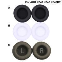 1 Pair Replacement Ear Pads Cushion earpads For AKG K545 K845BT K540 Headphones