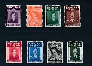 [30139] Albania 1938 Good set Very Fine MH stamps