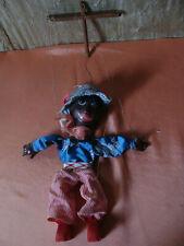 6 marionnettes anciennes années 30-50 à fil
