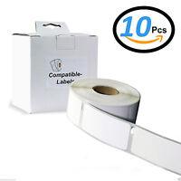 10 Rolls 99012 Labels for Dymo/Seiko Labelwriter 310 320 330 400 450 Printer