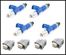 Honda Civic RDX 410cc Denso Fuel Injectors clips adapters b16 d16 GSR b18c5 b18c