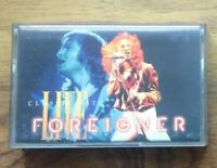 Foreigner 'Classic Hits - Live'  Cassette Album (1983) . Free Postage