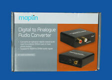 MAPLIN DIGITAL TO ANALOGUE AUDIO CONVERTER - A44QX