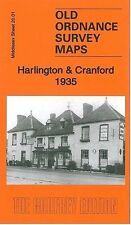 MAP OF HARLINGTON & CRANFORD 1935