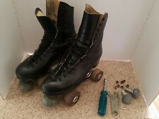 Vintage Riedell Red Wing Custom Built Skates With Tools