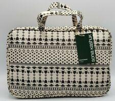 Sonia Kashuk Weekender Bag Woodblock Cream - 1 Piece Makeup Travel Bag NWT