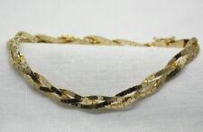 Lovely Quality 14 Carat Gold Twisted Strand Bracelet