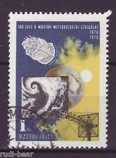 Ungarn Nr.  2580  gest.  Meteorologischer Dienst in Ungarn
