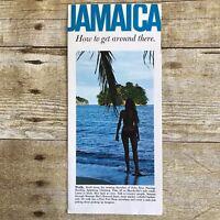 Vintage Brochure Jamaica Tourism Travel Vacation Advertising 1960's Caribbean