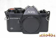 Agfa Selectronic 1 * Neue Dichtungen + Spiegeldämpfer * New Light Seals * TOP *