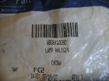 WB08X10050 Genuine GE OEM Microwave Halogen Lamp 120V 20W Sealed Brand New