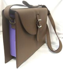 MELI MELO THELA PREP SPEX MEDIUM BAG AMAZING BROWN & PURPLE ADJUSTABLE STRAP EUC