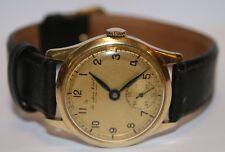 IWC Herrenuhr Kaliber 83 585 er Gold 14 Kt Handaufzug Bj. 1937 funktionstüchtig