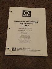 NARCO UDI 2 UDI 2R DME Interrogator Service Maintenance Manual Installation