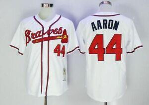 Hank Aaron, american baseball famous player jersey, regular season quality