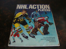 1974-75 NHL Action Players---Partial Stamp Set With Album---287/324---See List
