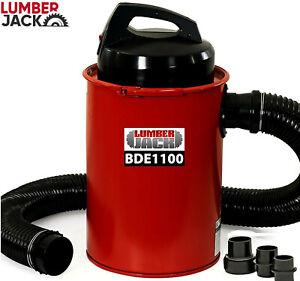 Lumberjack Dust Extractor 50 Litre Chip Collector Vacuum & Adaptor Set 240V